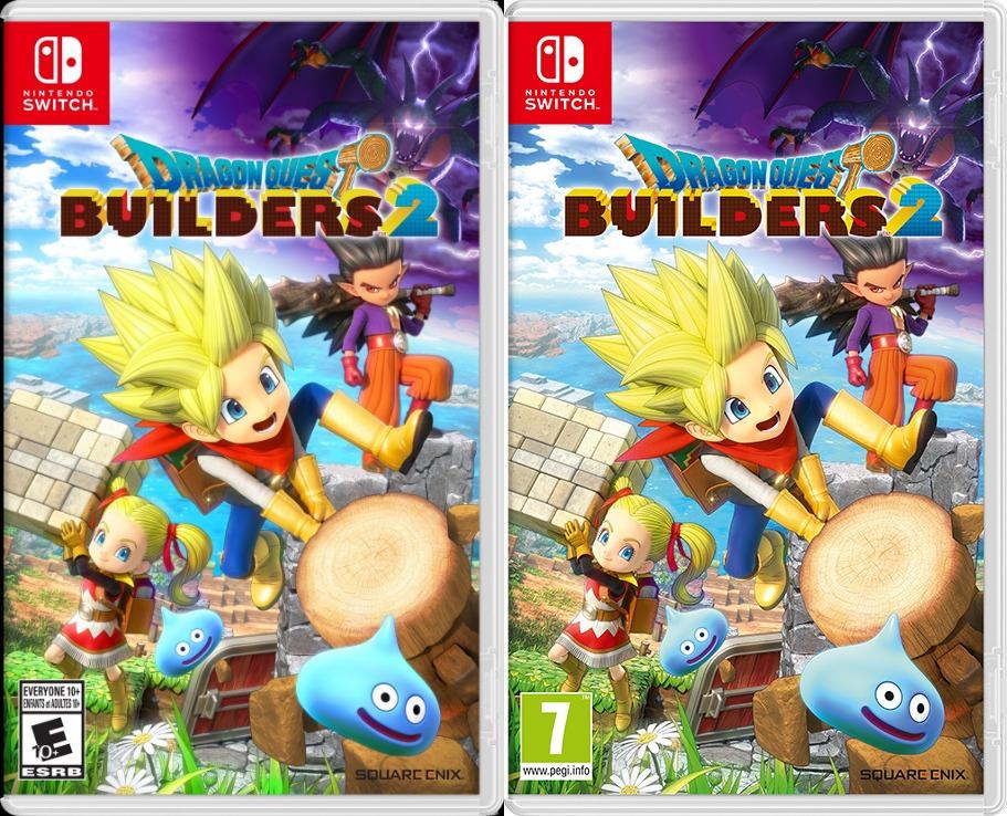 North American European Dragon Quest Builders 2 Boxart Nintendo Everything