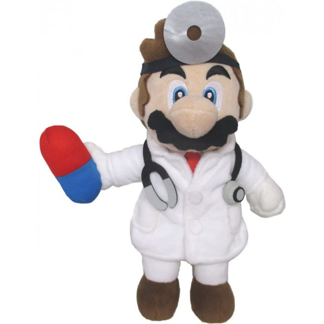 Dr. Mario World plushies