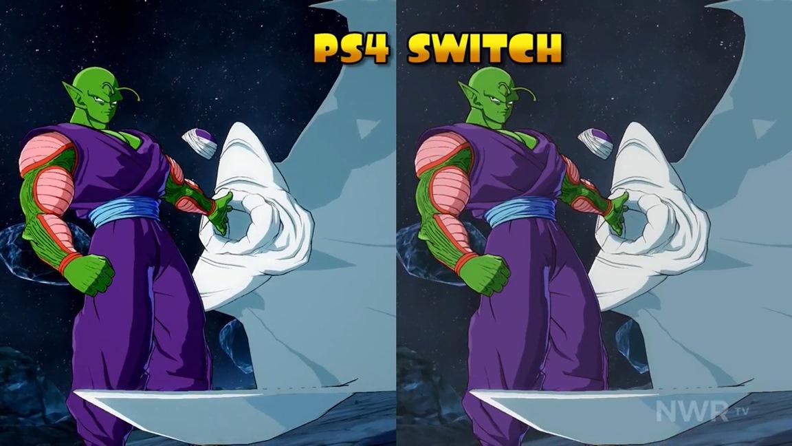 Video Dragon Ball Fighterz Switch Vs Ps4 Graphics Comparison