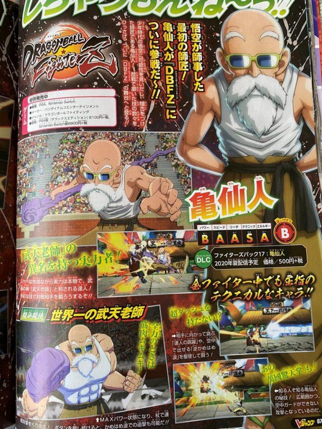 Dragon Ball FighterZ - Master Roshi