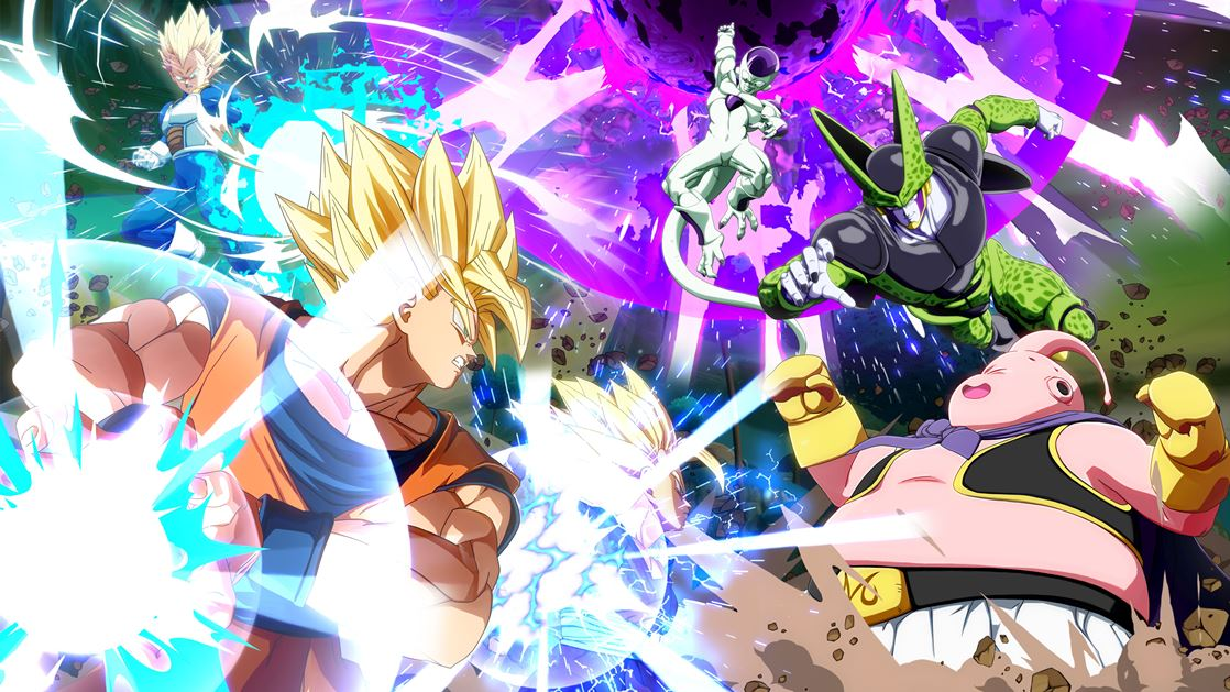 Normal Goku And Vegeta Announced As New Dragon Ball Fighterz