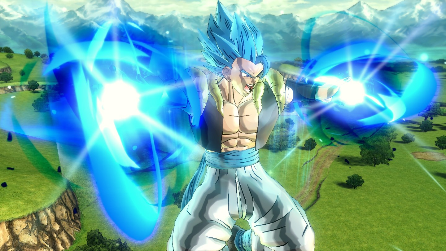 Dragon Ball Xenoverse 2 screenshots show Gogeta (SSGSS) and