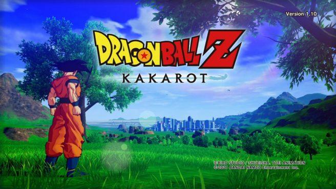 dragon ball z kakarot switch gameplay