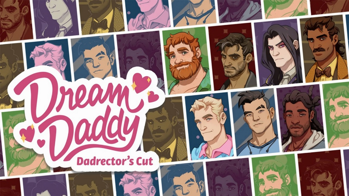 Dream Daddy: A Dad Dating Simulator launches on Switch next month