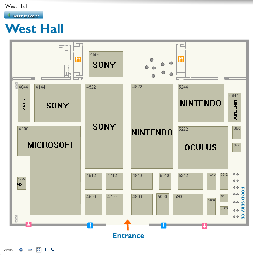 A Look At The E3 2016 Floor Plans Nintendo Everything
