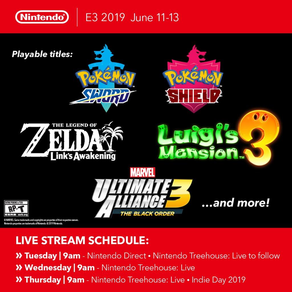 Nintendo E3 2019 details - playable games, Marvel Ultimate