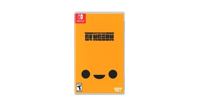 A look at Enter the Gungeon's physical release boxart, listed for
