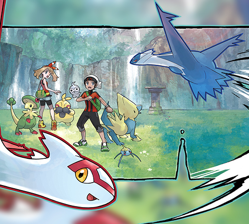 Pokemon Omega Ruby / Alpha Sapphire - Australian Eon Ticket