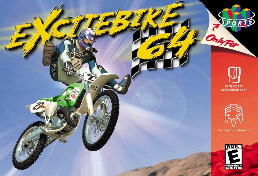 Excitebike 64 devs on the game's development - origins, Miyamoto feedback, more