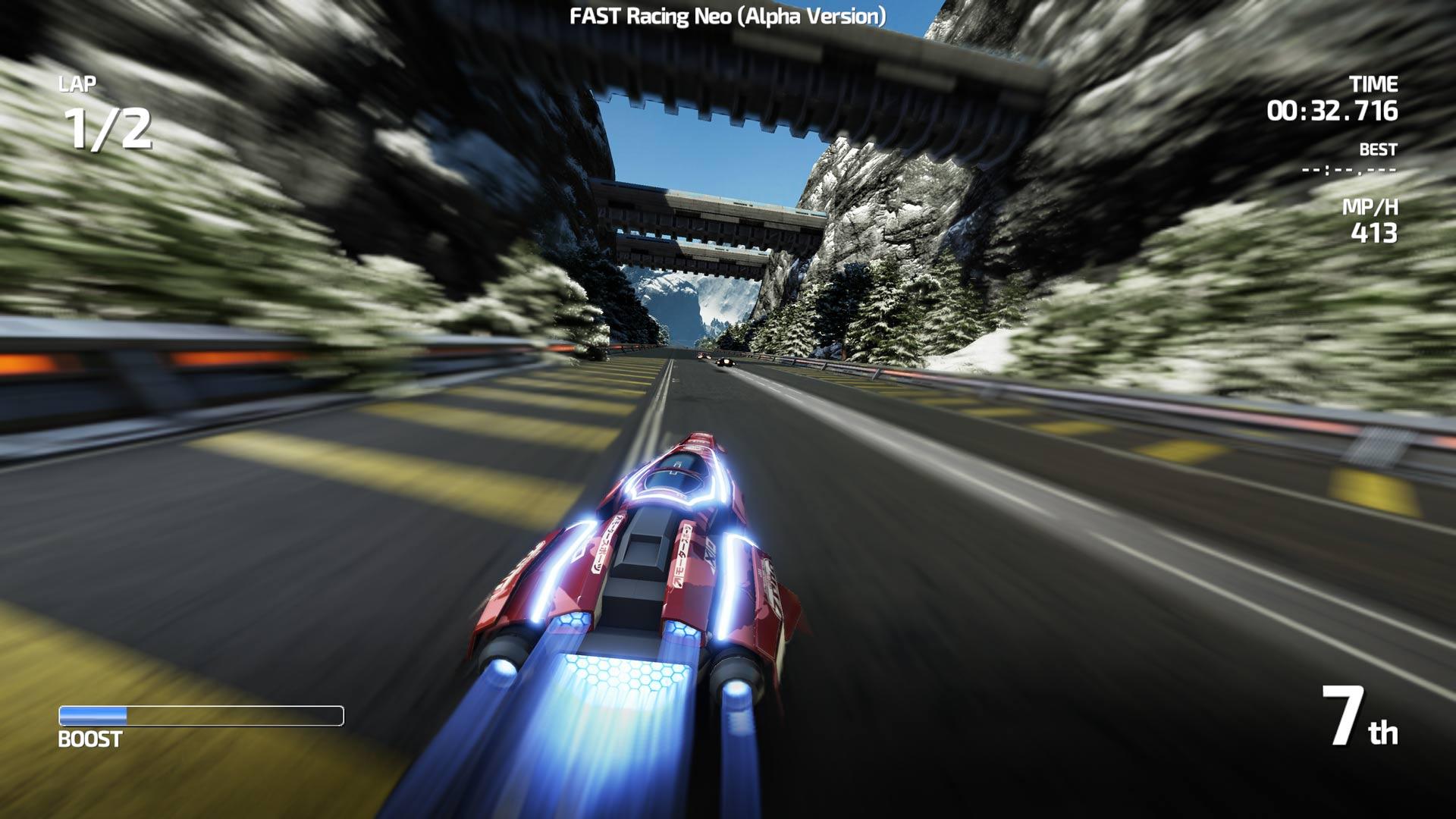 FAST Racing Neo - IndieCade 2015 gameplay (off-screen) - Nintendo ...