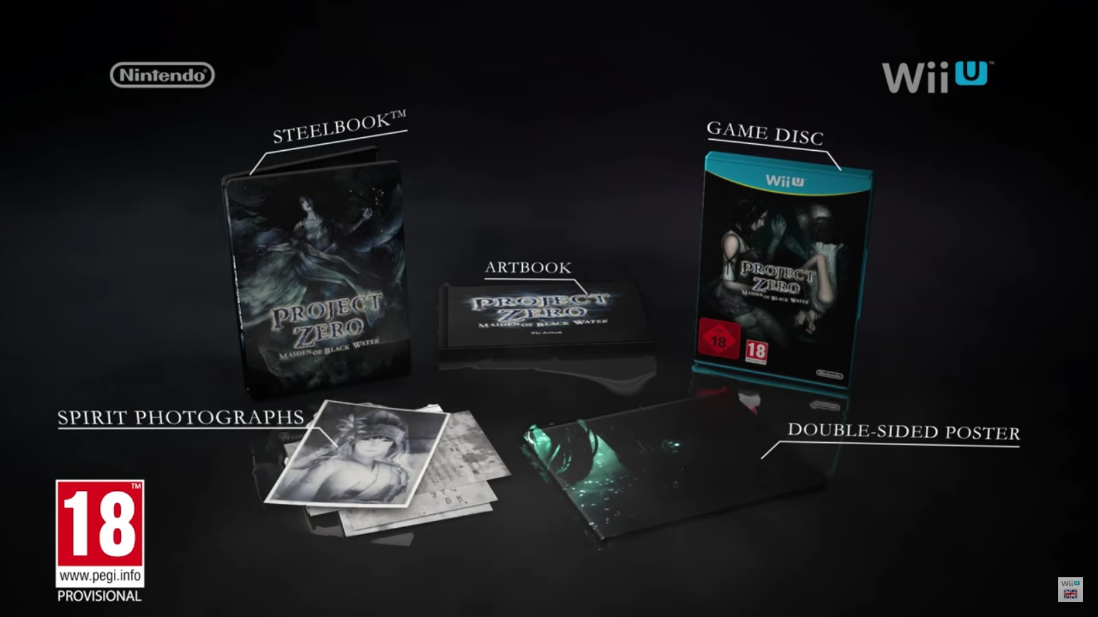 Fatal Frame: Maiden of Black Water - Limited Edition revealed, demo ...