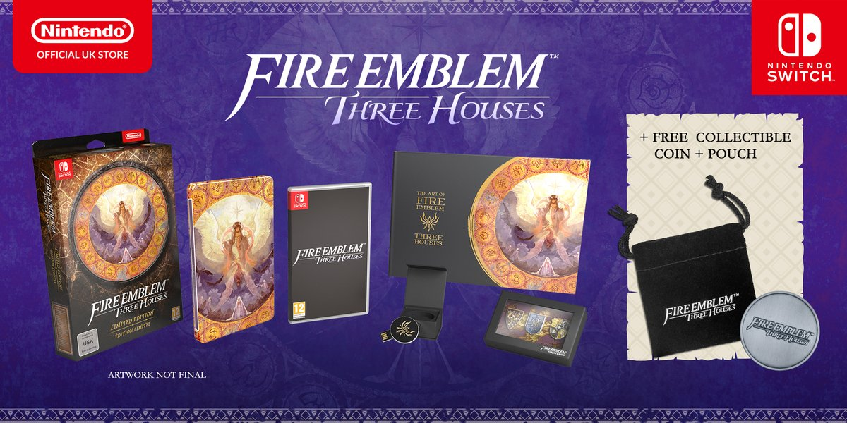 Pre-order Fire Emblem: Three Houses on the Nintendo UK store