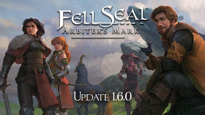 Fell Seal: Arbiter's Mark update 1.6.0