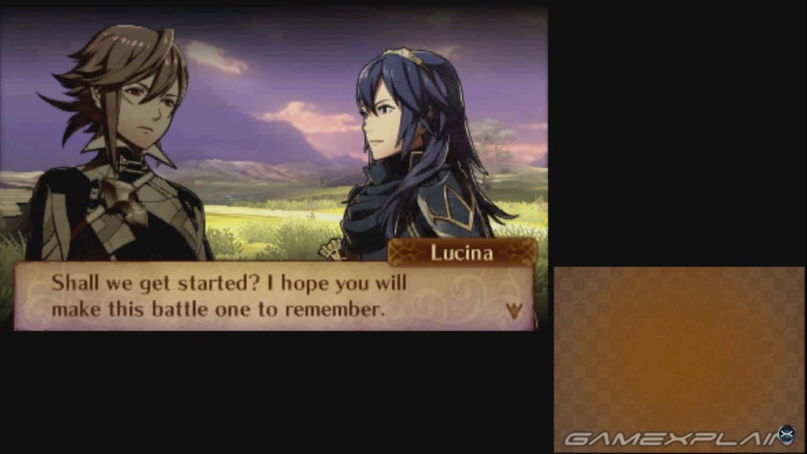 Fire Emblem Fates Lucina Battle Footage Amiibo Nintendo