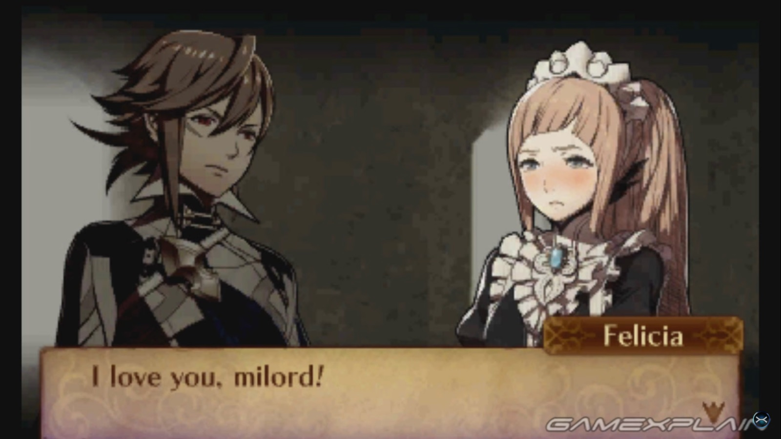 Fire Emblem Fates Footage Marriage Meeting Corrin S Child
