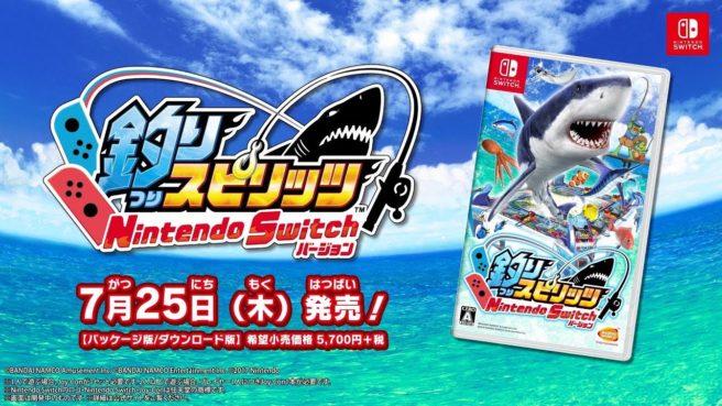 Fishing Spirits Nintendo Switch Version