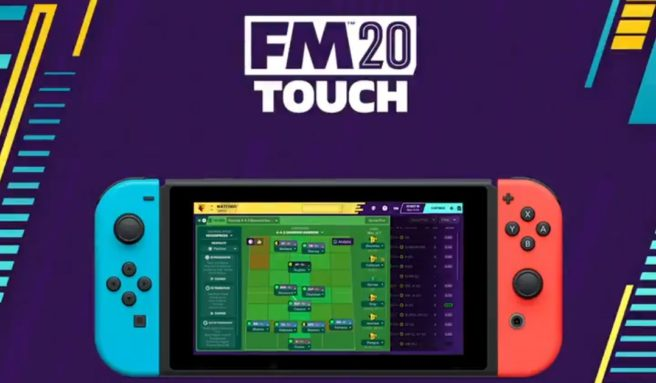 Football Manager 2020 Touch launches on Switch next week