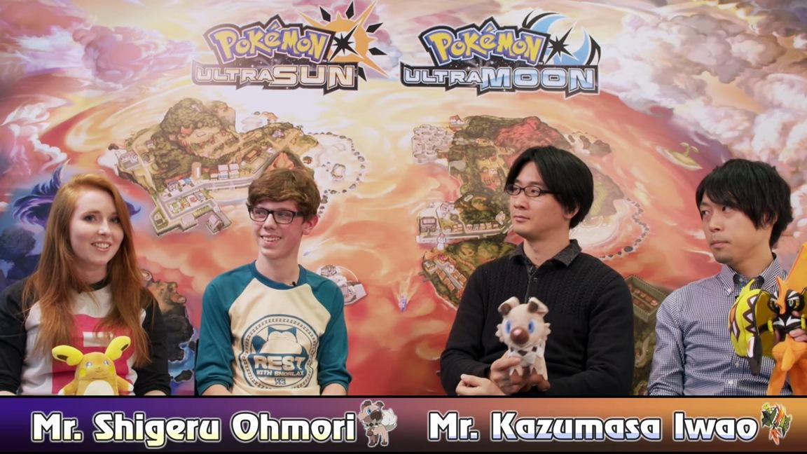 Pokemon Ultra Sun/Ultra Moon introduction with Game Freak
