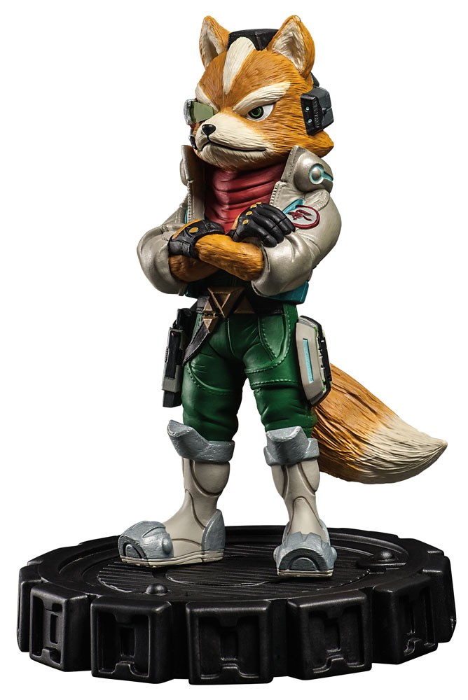 Star Fox Zero McCloud Statue Unboxing