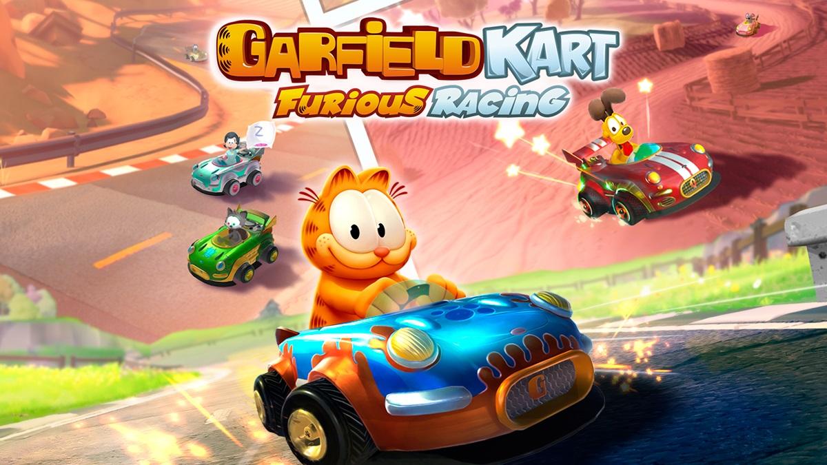 Garfield Kart: Furious Racing launch trailer