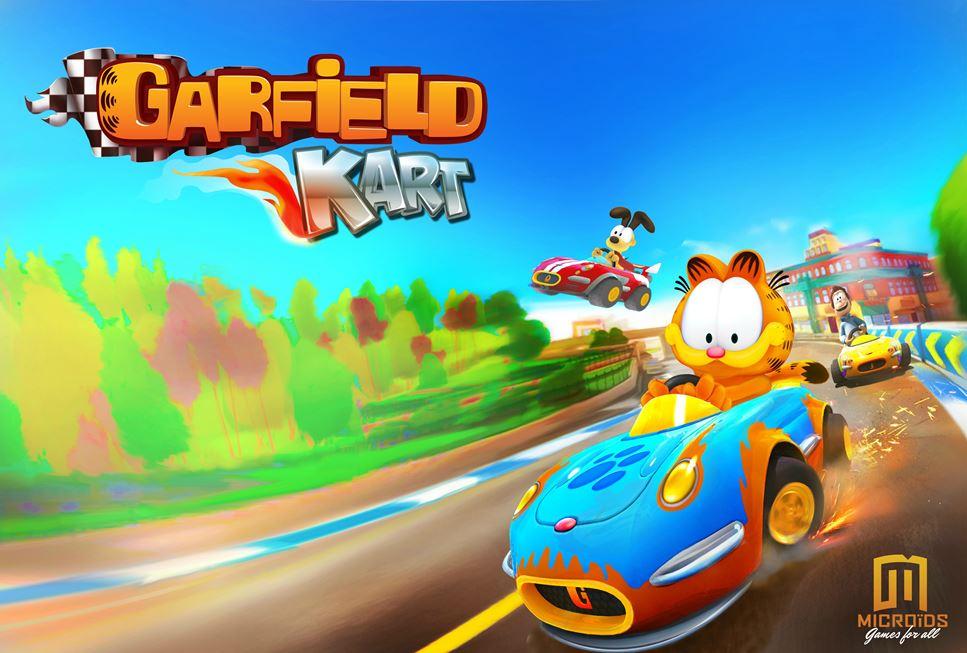 Garfield Kart Screenshots And Art Nintendo Everything