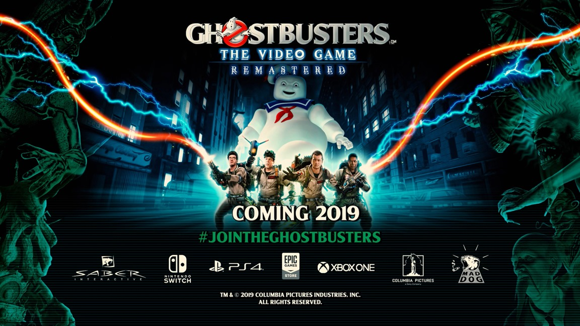 GameStop lists Ghostbusters: The Video Game Remastered as an