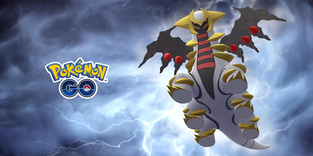 Giratina appearing in Pokemon GO raids soon