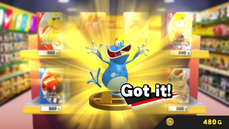 Rayman S Barbara Globox Are Also Trophies In Smash Bros