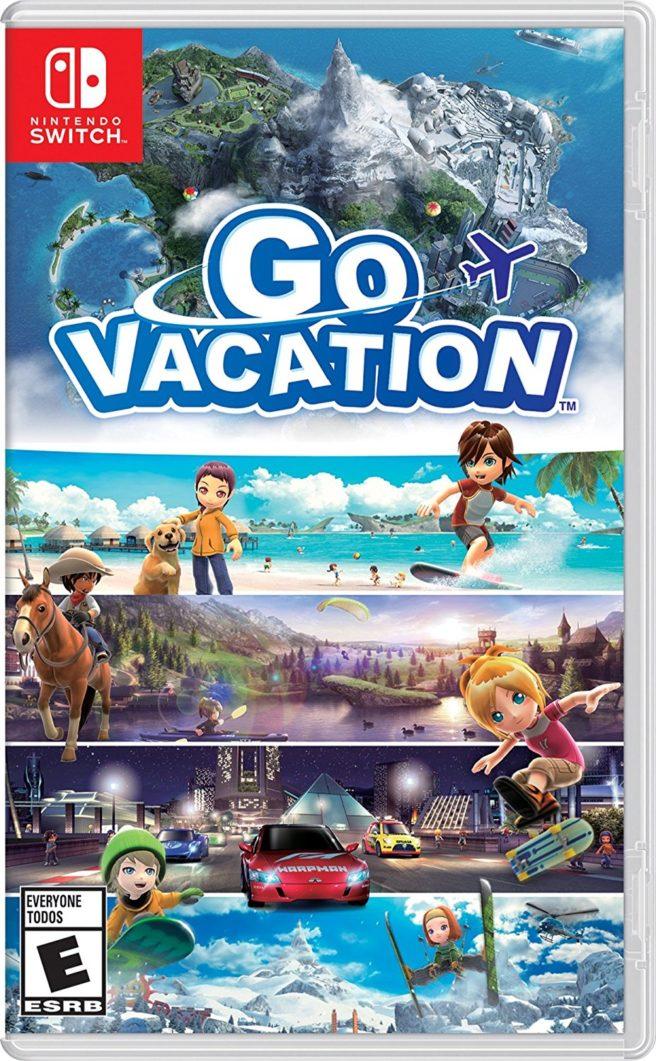 Go Vacation boxart
