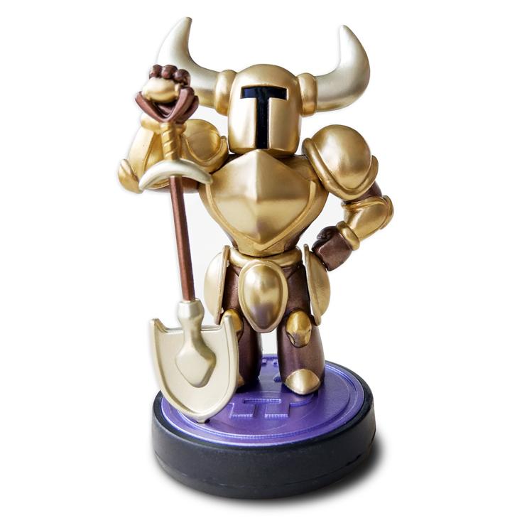 Shovel Knight Gold Edition amiibo officially announced, details and photos