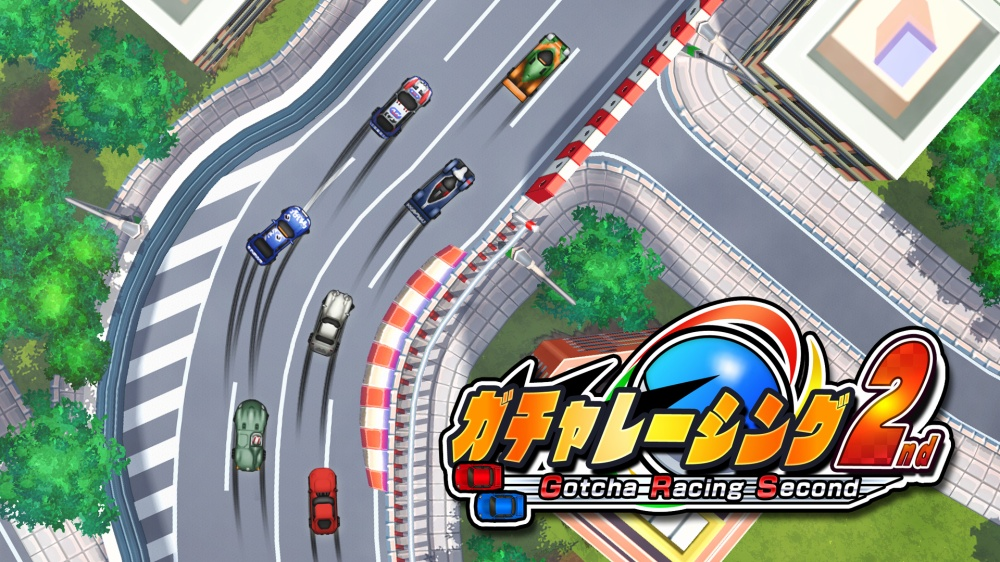 Gotcha Racing 2nd out on the Japanese Switch eShop next week