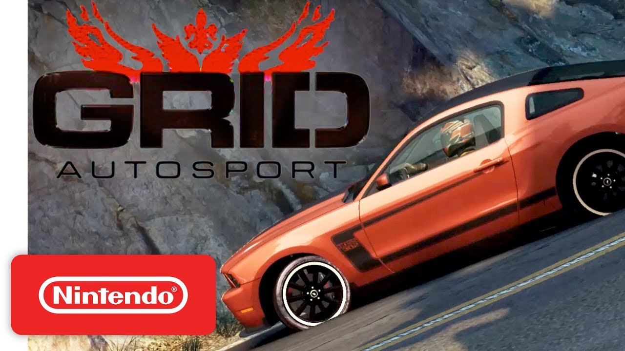 GRID Autosport Switch details - GameCube controller support