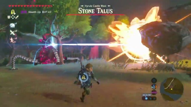 All Sorts Of Crazy Shenanigans Can Happen In The Legend Zelda Breath Wild Tristan Cooper Captured One Such Amazing Moment Which A Guardian