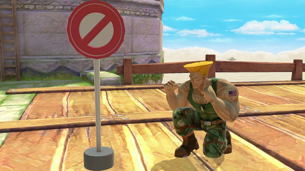Nintendo Shares Guile Stage Music From Super Smash Bros Ultimate
