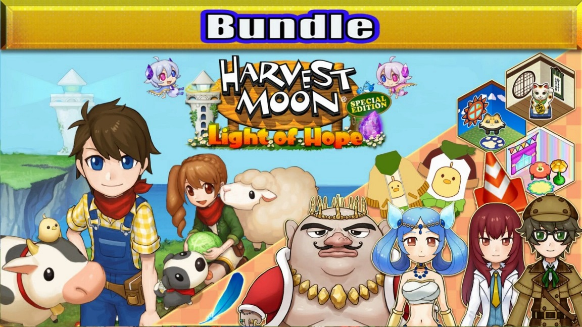 Natsume to offer Harvest Moon: Light of Hope Special Edition