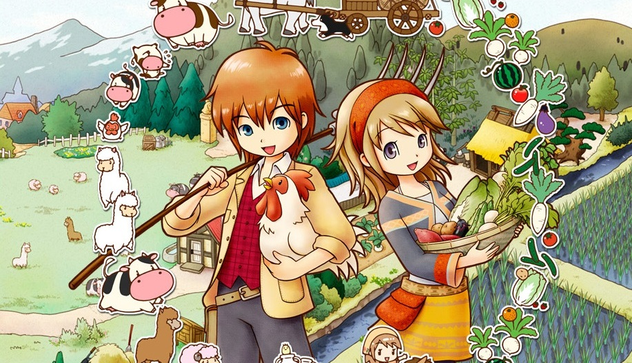 Harvest Moon: The Tale of Two Towns+ announced for 3DS