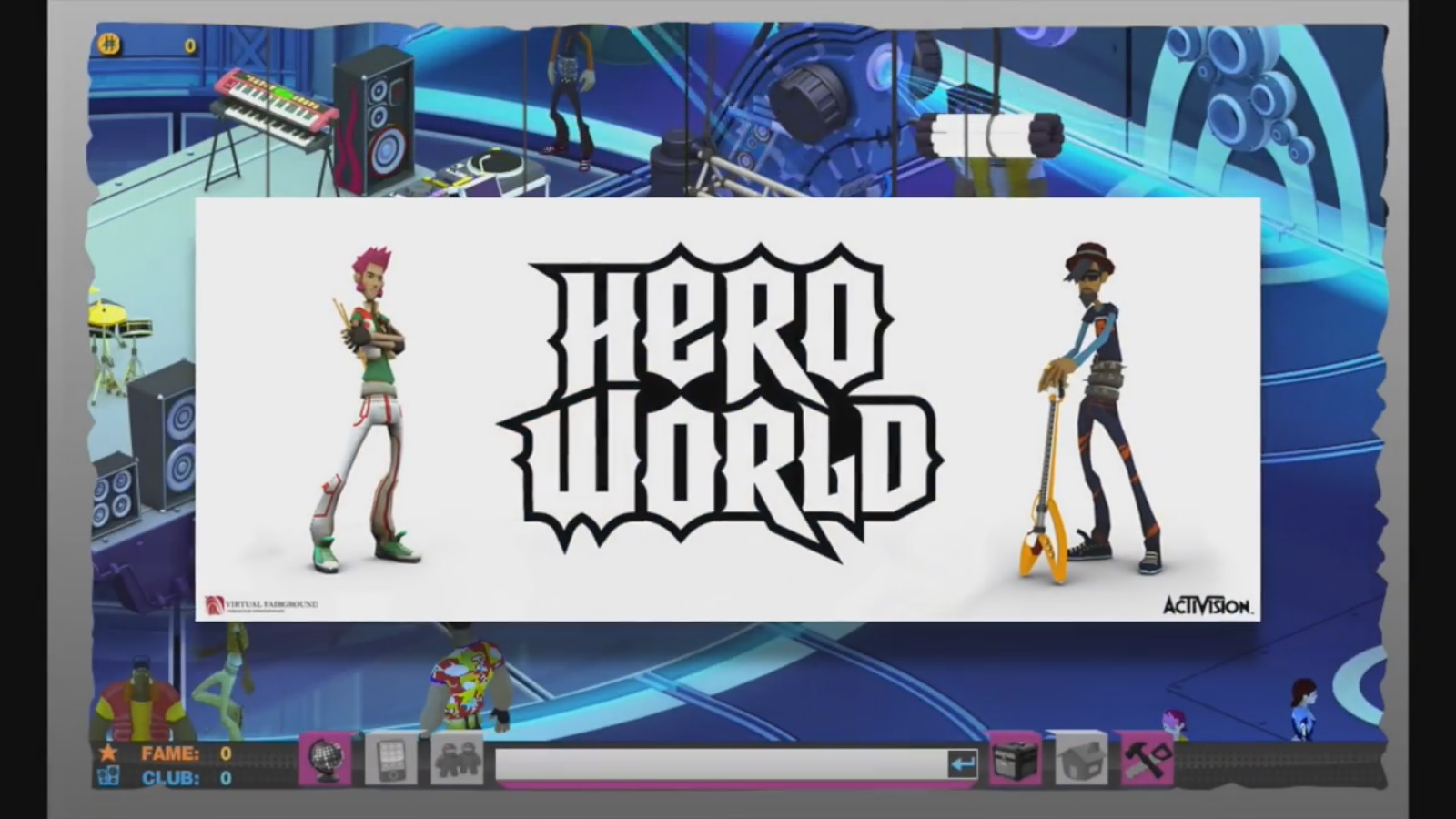 Video: A look into the cancelled Guitar Hero / DJ Hero MMO