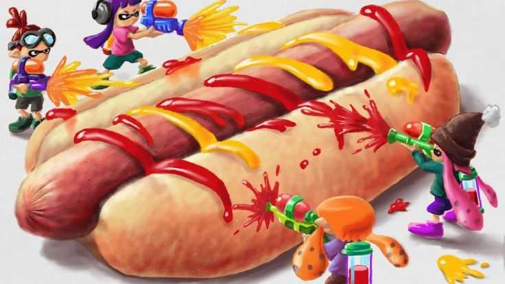 Nintendo Hot Dog Not A Sandwich