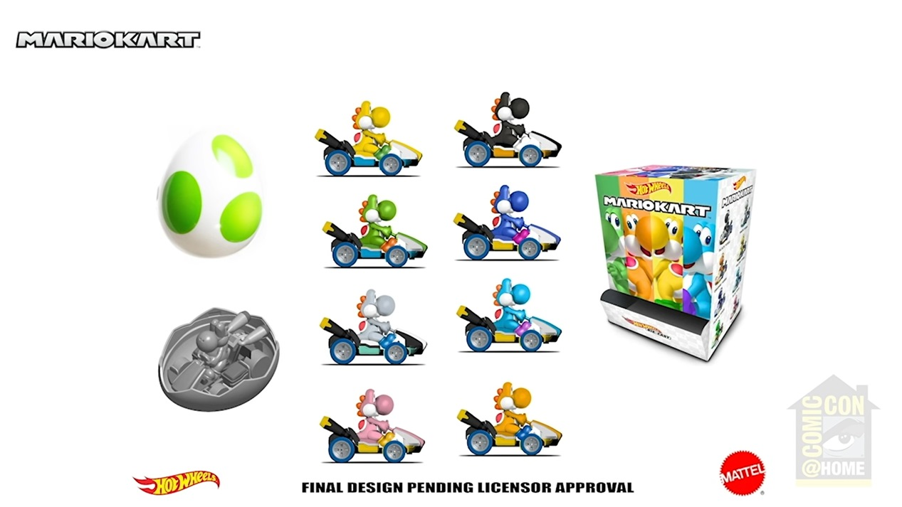 Hot Wheels reveals new Mario Kart products - Nintendo Everything
