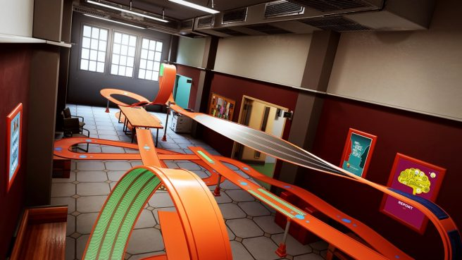 Hot Wheels Unleashed - College Campus