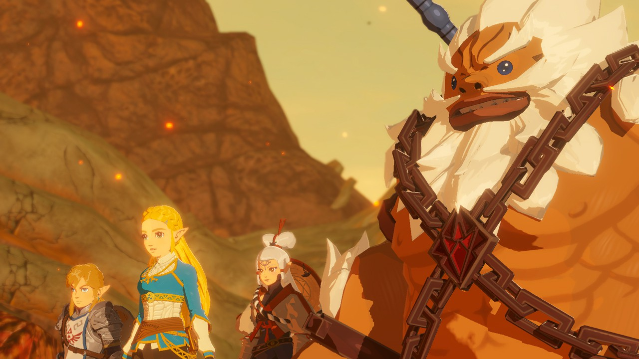 Hyrule Warriors Age Of Calamity Gets More New Gameplay First Look At Daruk And More Nintendo Everything