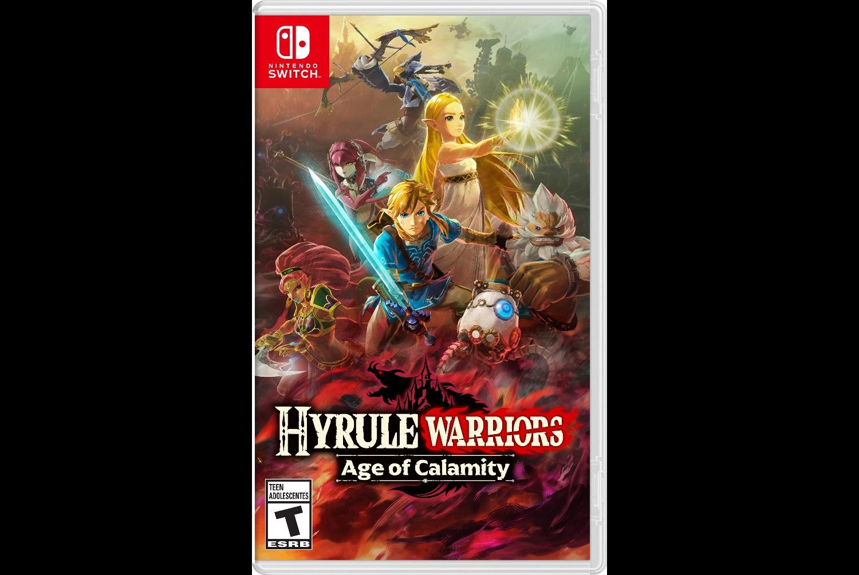 Hyrule Warriors Age Of Calamity Boxart Screenshots Art Nintendo Everything