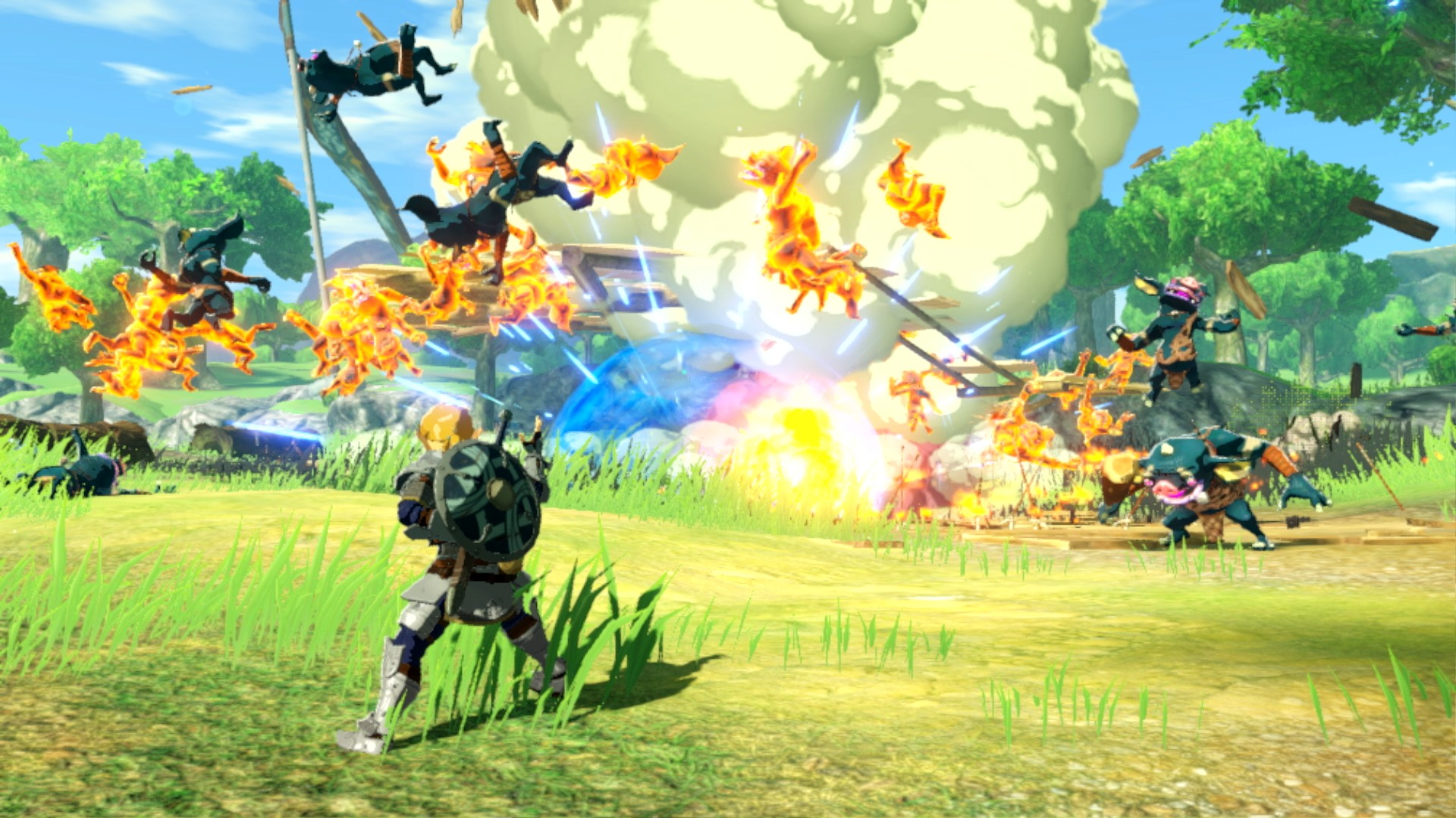 Next Hyrule Warriors Age Of Calamity Update Coming On September 26 Nintendo Everything