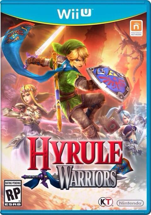 Box art for Hyrule Warriors