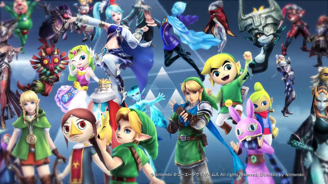 Switch File Sizes Hyrule Warriors Definitive Edition And More Nintendo Everything