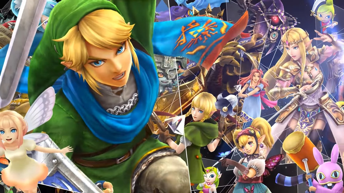 hyrule warriors definitive edition - nintendo switch trailer