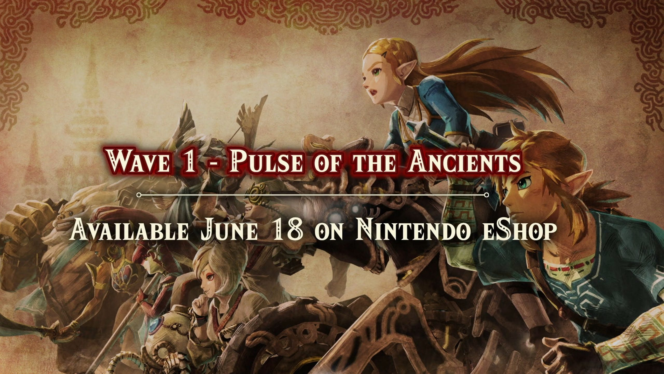 Hyrule Warriors: Age of Calamity - Wave 1 DLC: Pulse of the Ancients