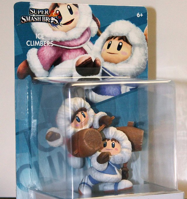 this custom made ice climbers amiibo is impressive nintendo everything