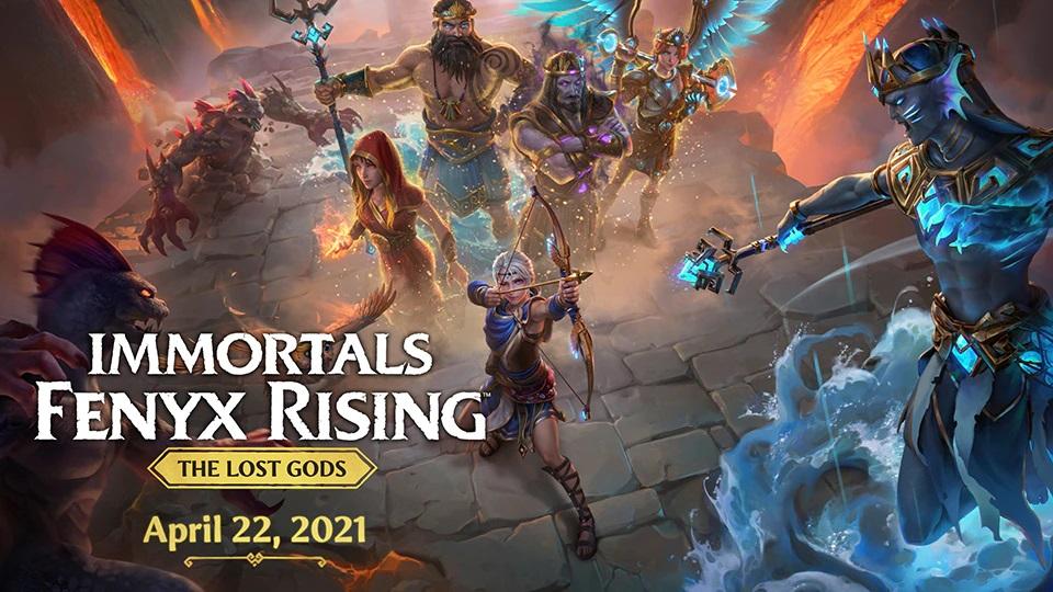 Immortals Fenyx Rising - The Lost Gods DLC