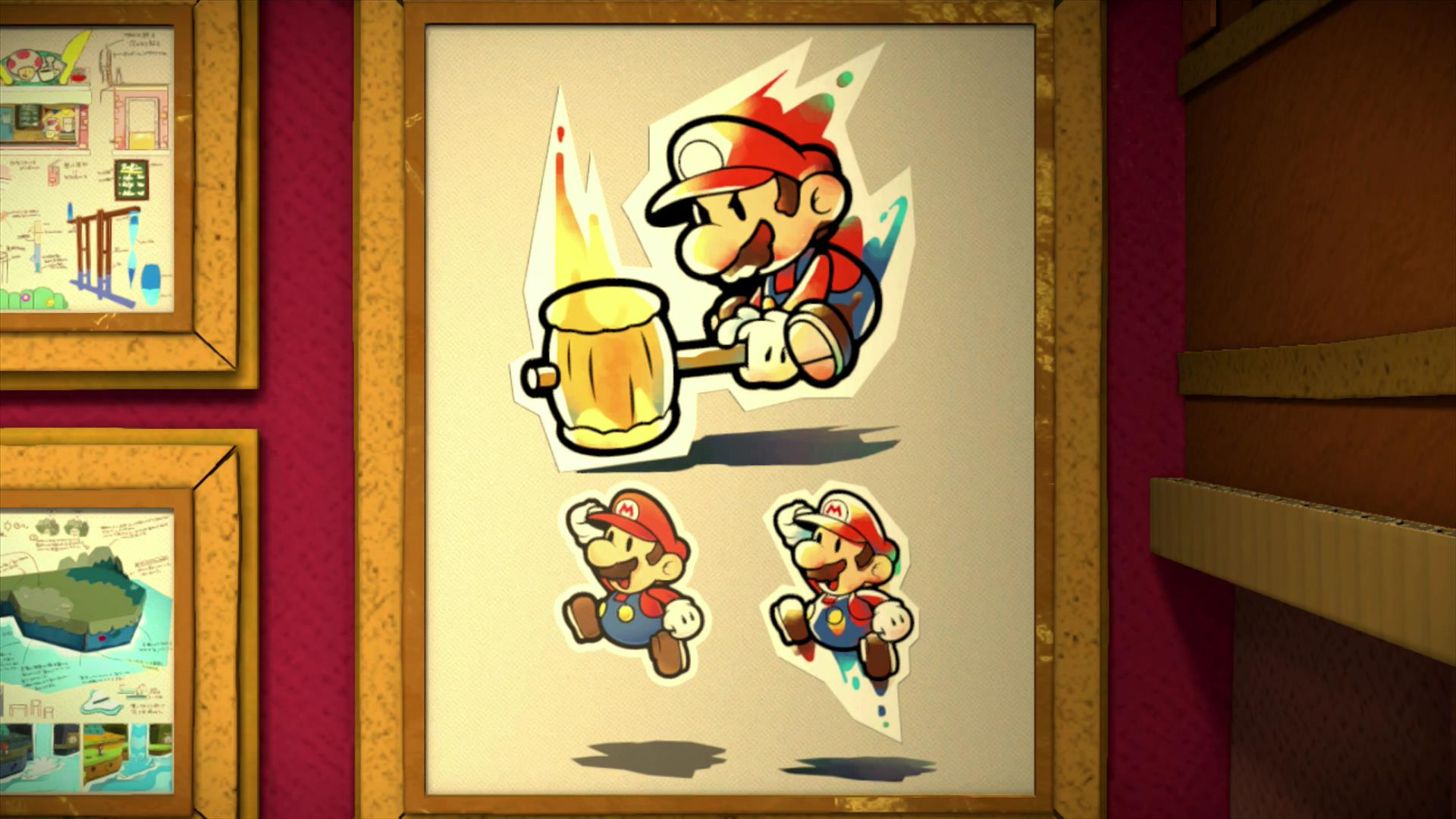 Another Round Of Paper Mario Color Splash Concept Art